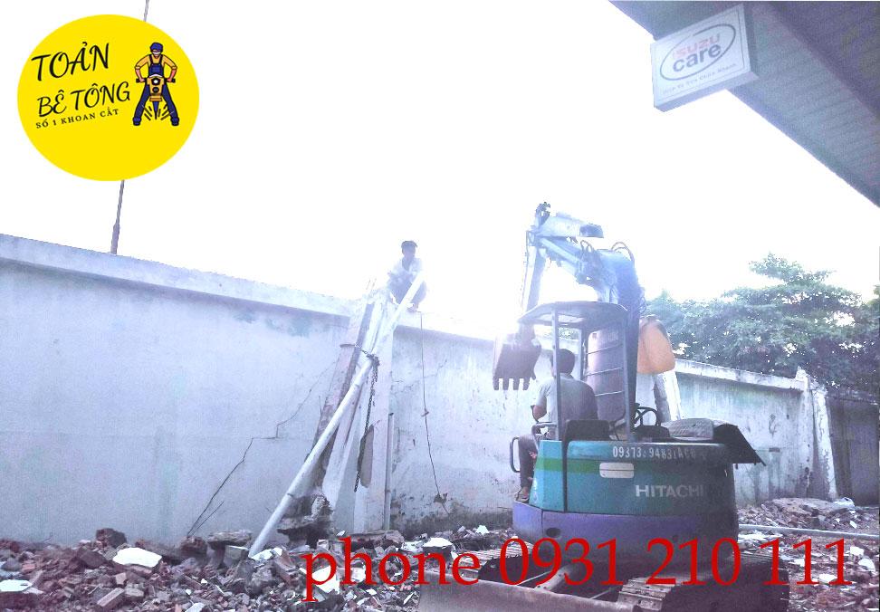 tháo dỡ công trình quận 11